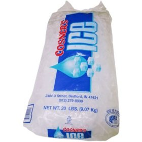 Cosner's Ice, Bagged (20 lbs.)