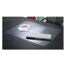Artistic - KrystalView Desk Pad with Microban, Matte, 17 x 12 -  Clear
