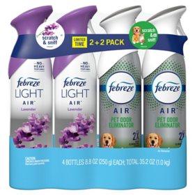 Febreze Air Effects Air Freshener, 4 pk. (Choose Scent)