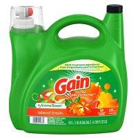 Gain + Aroma Boost Liquid Laundry Detergent, Island Fresh Scent (146 loads, 200 oz.)