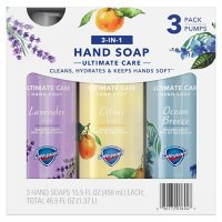 Safeguard Liquid Hand Soap 3-in-1 Ultimate Care Pack, Micellar Deep Cleansing (15.5 fl. oz. 3 pk.)