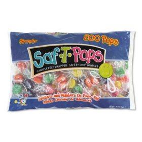 Spangler Saf-T-Pops (200 ct.)