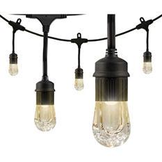 Enbrighten 36' Strand LED Acrylic Café Lights (18 bulbs)