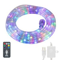 EcoScapes LED Color-Changing 15' Rope Light