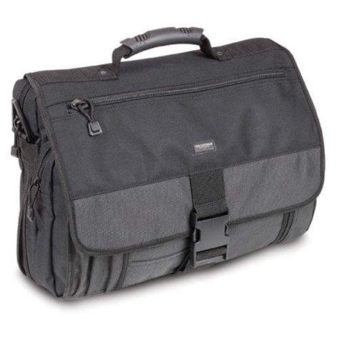 Expandable Polyester Laptop Messenger Bag