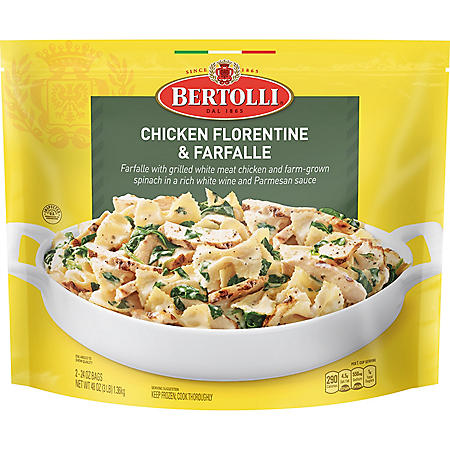 Bertolli Chicken Florentine and Farfalle Classic Skillet Meal, Frozen (2 pk.)