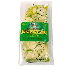 BelGioioso Fresh Mozzarella Cheese, Hand Braided and Pesto Marinated (16 oz.)