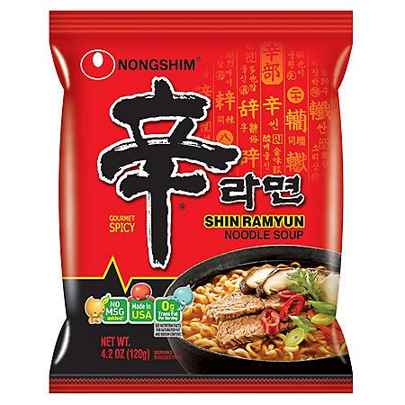 Shin Ramyun Noodle Soup (4.2 oz. ea., 18 pk.)