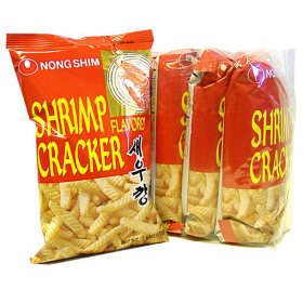 NongShim Shrimp Flavored Crackers (2.6oz / 5pk)