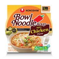 Nongshim Bowl Noodle Soup, Spicy Chicken Flavor (3.03 oz., 12 ct.)