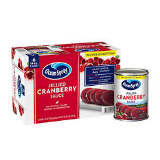 Ocean Spray Jellied Cranberry Sauce (14 oz. can, 6 pk.)