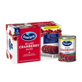 Ocean Spray Jellied Cranberry Sauce (14 oz., 6 pk.)