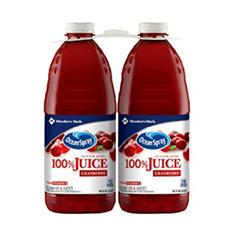Member's Mark 100% Cranberry Juice by Ocean Spray (96 fl. oz., 2 pk.)