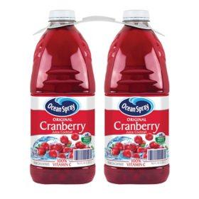Ocean Spray Cranberry Cocktail Juice (96oz / 2pk)