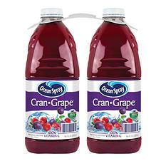 Ocean Spray Cran-Grape Juice Drink (96 oz. ea., 2 pk.)