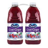 Ocean Spray Cran-Grape Juice Drink (96oz / 2pk)
