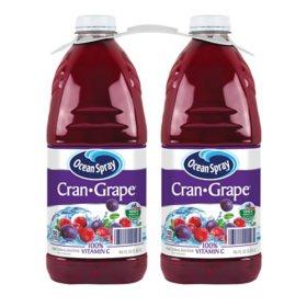 Ocean Spray Cran-Grape Juice Drink (96 oz., 2 pk.)
