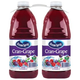 Ocean Spray Cran-Grape Juice Drink (96oz / 2pk)