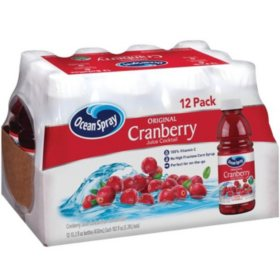 Ocean Spray Cranberry Juice Cocktail (15.2oz / 12pk)