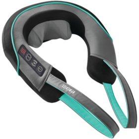 HoMedics Dual-Comfort Shiatsu and Vibration Neck-and-Shoulder Massager with Heat
