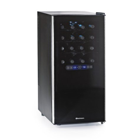 Wine Enthusiast 32-Bottle Dual-Zone Touchscreen Wine Cooler