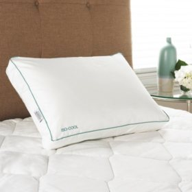 Iso-Cool Visco Elastic Memory Foam Side Sleeper Pillow with Outlast Cover