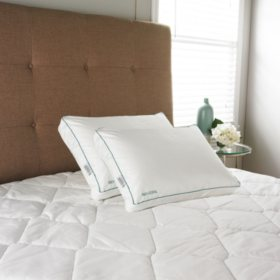 Iso-Cool Standard Side Sleeper Pillows with Outlast Covers (2 pack)