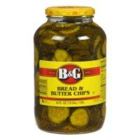 B&G Bread & Butter Chips- 64 oz. jar