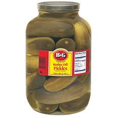 B&G® Kosher Dill Pickles - 1 gal