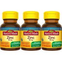 Nature Made® Zinc 30 mg Tablets (100 ct., ea. 3 pk.)