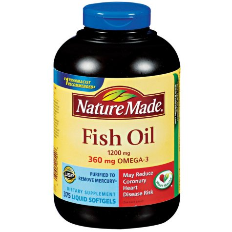 Nature Made® Fish Oil Dietary Supplement - 375 ct.