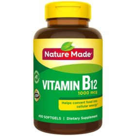 Nature Made B12 1000 mcg (400 ct.)