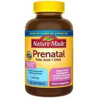 Nature Made Prenatal + DHA, 200mg Softgels (150 ct.)