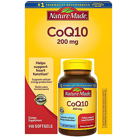 Nature Made CoQ10 200mg Softgels (140 ct.)