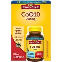 Nature Made CoQ10 200mg Softgels (140 ct.)