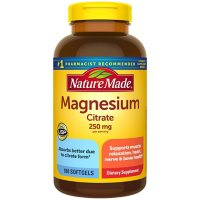 Nature Made Magnesium Citrate 250mg Softgels (180 ct.)