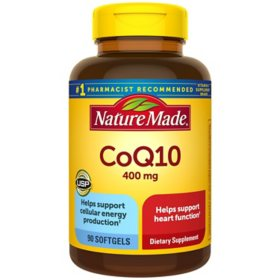Nature Made CoQ10 400mg Softgels (90 ct.)