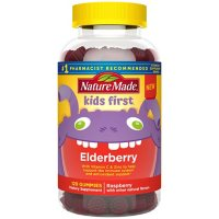 Nature Made Kids First Elderberry Gummies with Vitamin C and Zinc, for Immune Support (120 ct.)