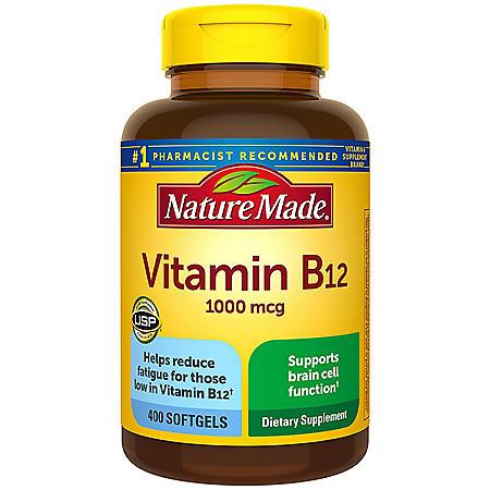 Nature Made B12 1000mcg (400 ct.)