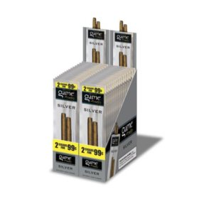Game Natural Leaf Cigars, Silver, Prepriced 2/$0.99 (2 ct., 30 pk.)