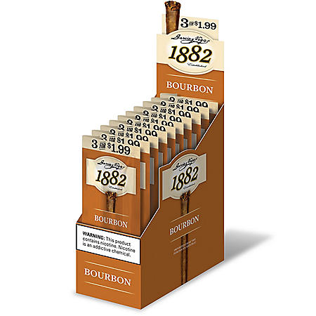 1882 Garcia Y Vega Bourbon Cigar (3 ct., 10 pk.)