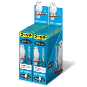 White Owl Cigarillos, Blue Raspberry (2 ct., 30 pk.)
