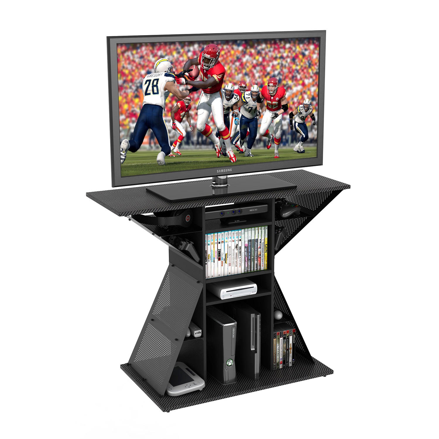 Atlantic Phoenix Gaming Hub with Storage, Fits TVs up to 42""