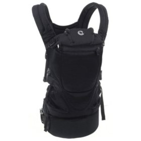 Contours Love 3-Position Baby Carrier, Black
