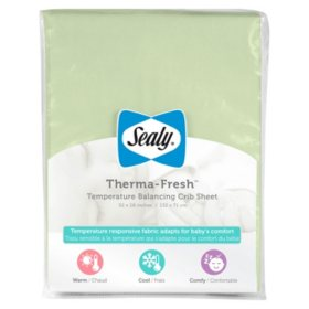 Sealy Therma Fresh Crib Sheet (Choose Your Color)