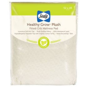 "Sealy Healthy Grow Plush Infant/Toddler Crib Mattress (52"" x 28"" x 8.5"")"