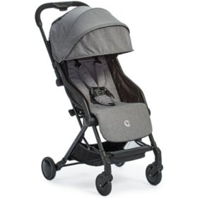Contours Bitsy Travel-Friendly Compact Fold Stroller, Granite Gray