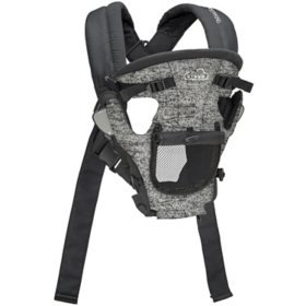 Kolcraft Cloud Cool Mesh Baby Carrier, Gray