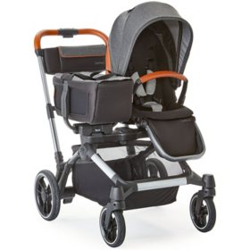Contours Element 1-to-2 Stroller, Gray