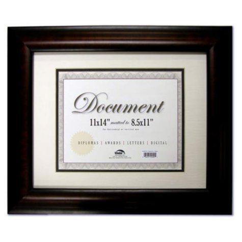 """Document Frame - Black Walnut - 11"""" x 14"""""""
